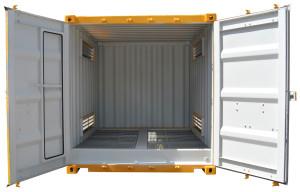 10ft dangerous good container interior