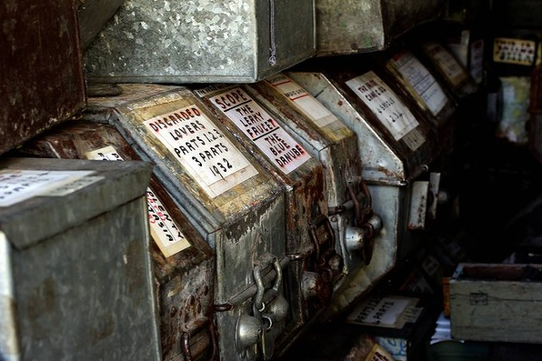 Historic Films stored in a shipping container 2