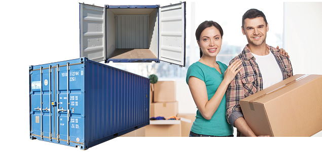 Don't Hire a removal Truck, get a DIY moving container from Containers First